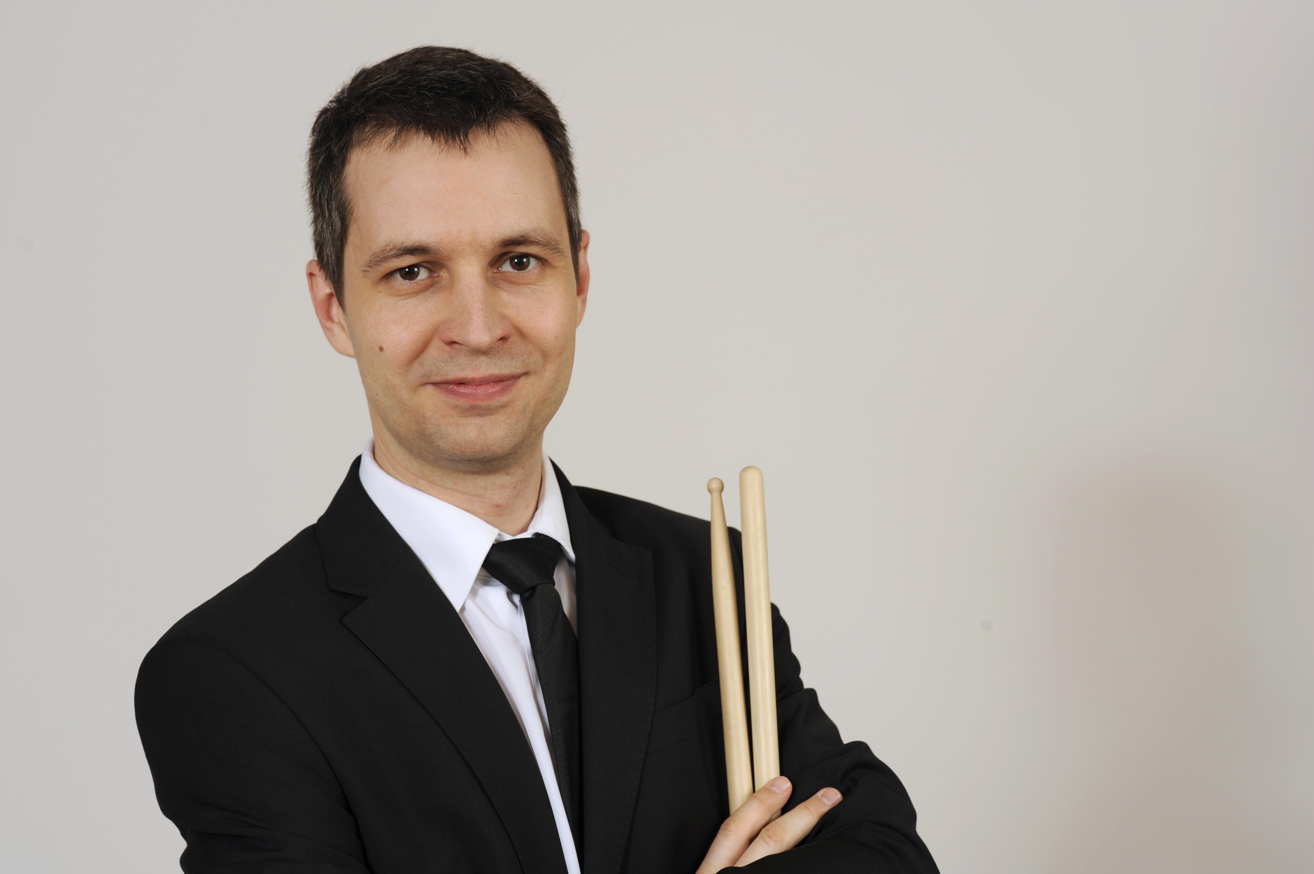 Klassischer Schlagzeuger
